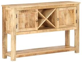 321788 vidaXL Servantă, 120 x 30 x 76 cm, lemn de mango nefinisat