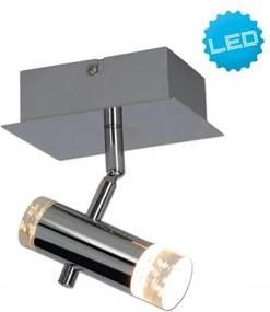 Aplica LED moderna cu 1 spot directionabil Garda