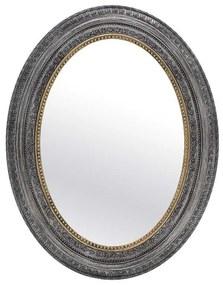 Oglinda decor perete Antique Grey 77 cm
