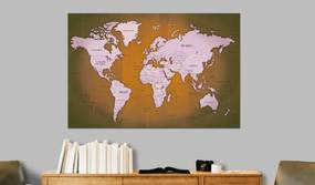 Tablou din plută - Copper Travels 120x80 cm
