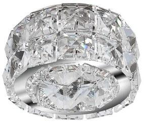 Azzardo AZ1451 - Lampă încastrată de cristal ESTER 1xGU10/50W/230V
