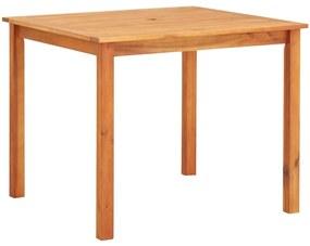 45961 vidaXL Masă de grădină, 88 x 88 x 74 cm, lemn masiv de acacia