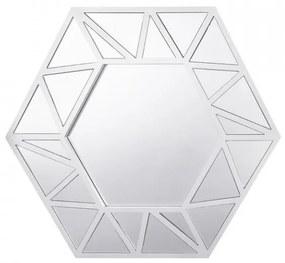 Oglindă Isigny, argintiu, 80 x 70 cm