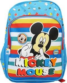 Ghiozdan clasa 0 Pigna Mickey Mouse albastru multicolor MKRS1842-1