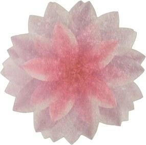 Covor Vitaus Flowerina, ⌀ 100 cm