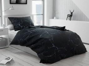 Lenjerie de pat bumbac Tempesta neagră