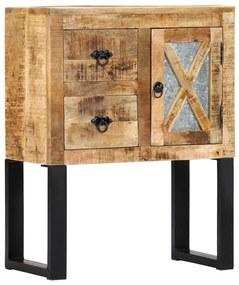 282758 vidaXL Servantă, 60 x 30 x 76 cm, lemn masiv de mango