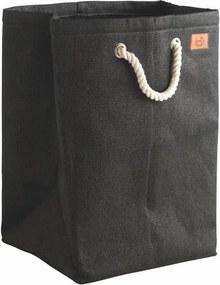 Coș de rufe Zone, 50 l, negru