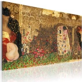 Tablou - Gustav Klimt - inspirace 60x40 cm