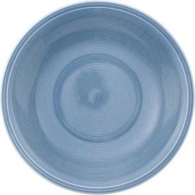 Farfurie adâncă din porțelan Like by Villeroy & Boch Group, 23,5 cm, albastru