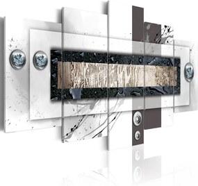 Tablou - White balance 100x50 cm