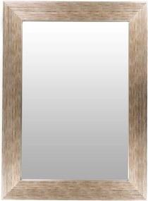 Oglinda dreptunghiulara cu rama din polistiren argintie/aurie Harper, 79cm (L) x 59cm (L) x 1,8cm (H)
