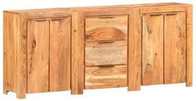 3056726 vidaXL Servantă cu 3 sertare și 4 uși, lemn masiv de acacia