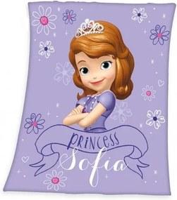 Pătură de copii Prinţesa Sofia, 130 x 160 cm