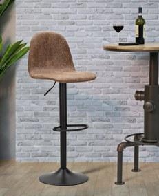 Scaun de bar ajustabil  BERLIN -B-CM 41X50X90-112 (inaltime sezut  CM 60X81)      , Mauro Ferretti
