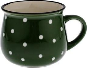 Cană din ceramică Dakls Premio, verde