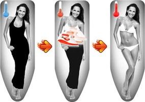 Husă termică pentru masa de călcat Colombo New Scal Magique Woman, 130 x 50 cm
