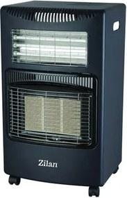 Soba pe gaz Gpl+Electric, FLORIA ZLN-1282,  Negru ZLN-1282