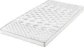 Topper Big Comfort, spuma, alb, 200 x 180 cm