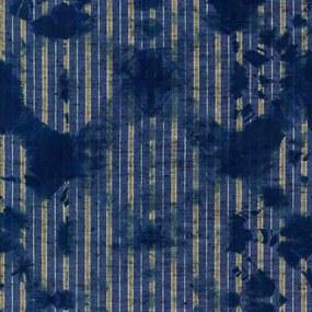MINDTHEGAP Tapet - Washed Shibori Indigo
