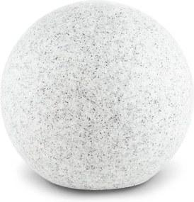 Lightcraft SHINESTINE M, lampă rotundă de exterior cu un diametru de 30 cm, piatră optică