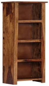 247717 vidaXL Bibliotecă, 50x30x100 cm, lemn masiv de sheesham