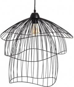 Lampa suspendata din metal Ceiling Lamp Black Metal Ø43cm | PRIMERA COLLECTION