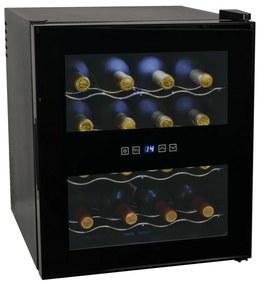 Frigider bar răcitor de vin, 48 L, 16 sticle, afișaj LCD