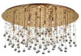 Plafonieră de cristal Ideal Lux MOONLIGHT 15xG9/40W/230V