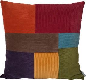 Perna colorata 50x50 cm Ridge Square Colour Zuiver