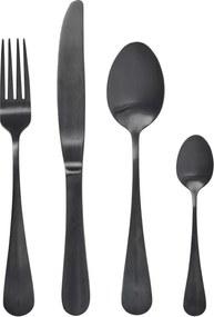 Set Tacamuri BLACK (set 4) - Inox Negru Furculita Inaltime(21 cm) Cutit Inaltime(24cm) Lingura Inaltime(21cm) Lingurita Inaltime(14cm)