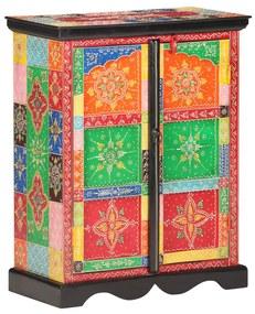 323538 vidaXL Servantă vopsită manual, 60 x 30 x 75 cm, lemn masiv de mango