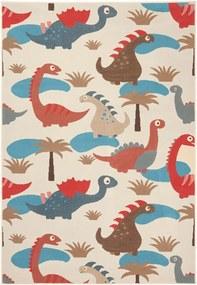 Covor colorat pentru copii 200x140 cm Dinosaur Zala Living