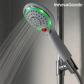Pară de duș cu senzor LED și afișare de temperatură InnovaGoods