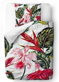 Home lenjerie de pat pentru pat de o persoana colorata Butter Kings Moms Favorite Flower 140x200cm