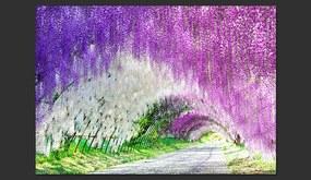 Bimago Fototapet - Enchanted garden 400x280 cm