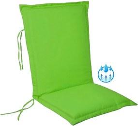 Perna impermeabila sezut/spatar pentru balansoar, scaun de bucatarie sau gradina, 48x65 cm, culoare verde