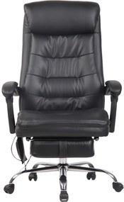 Scaun directorial cu masaj, suport picioare și funcție recliner, SIB 7568M