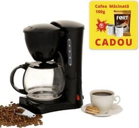Filtru de cafea Hausberg, Cafea macinata, 1.2 Litri, 1200 W