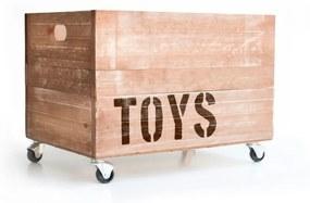 Cutie din lemn pentru jucării Really Nice Things Toys