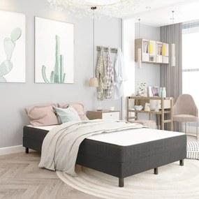 287455 vidaXL Cadru de pat, gri, 120 x 200 cm, material textil