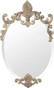 Oglinda de perete auriu vintage Baroc 33 cm x 3 x 52 h