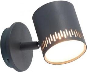 Aplica LED cu spot directionabil Cavi gri inchis