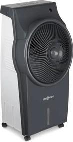 OneConcept Kingcoolrăcitor de aer 3-in-1 aer conditionat- ventilator- ionizator, temporizator 890m³ / h oscilație, control de la distanță gri