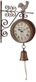Ceas de perete Antic Line Bell, metalic