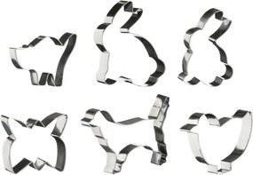 Set 6 forme pentru aluat Premier Housewares Animal