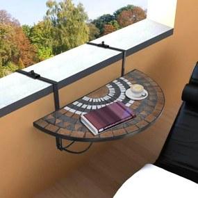 Masa pliabila pentru balcon in 2 culori