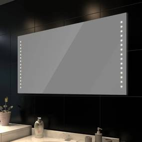Oglinda de baie cu lumina LED 100 x 60 cm