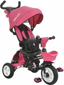 Tricicleta pliabila cu sezut reversibil Bebe Royal Milano Roz