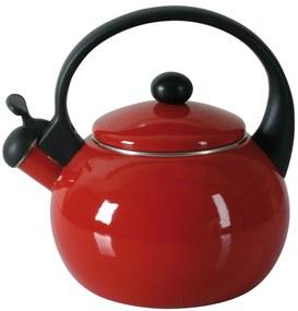 Ceainic din email 2200ml rosu Merve